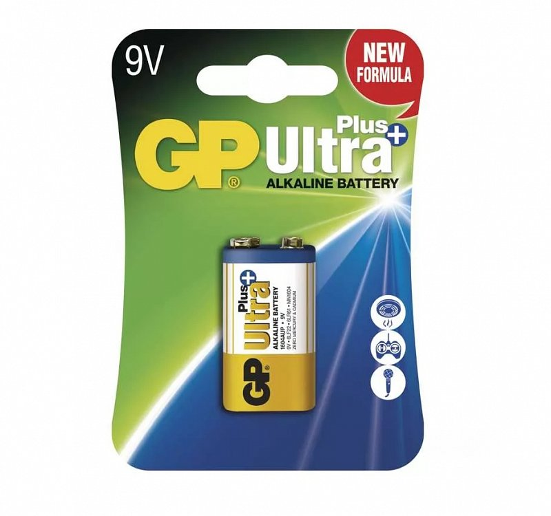 GP Batteries Batéria GP Ultra Plus 9V